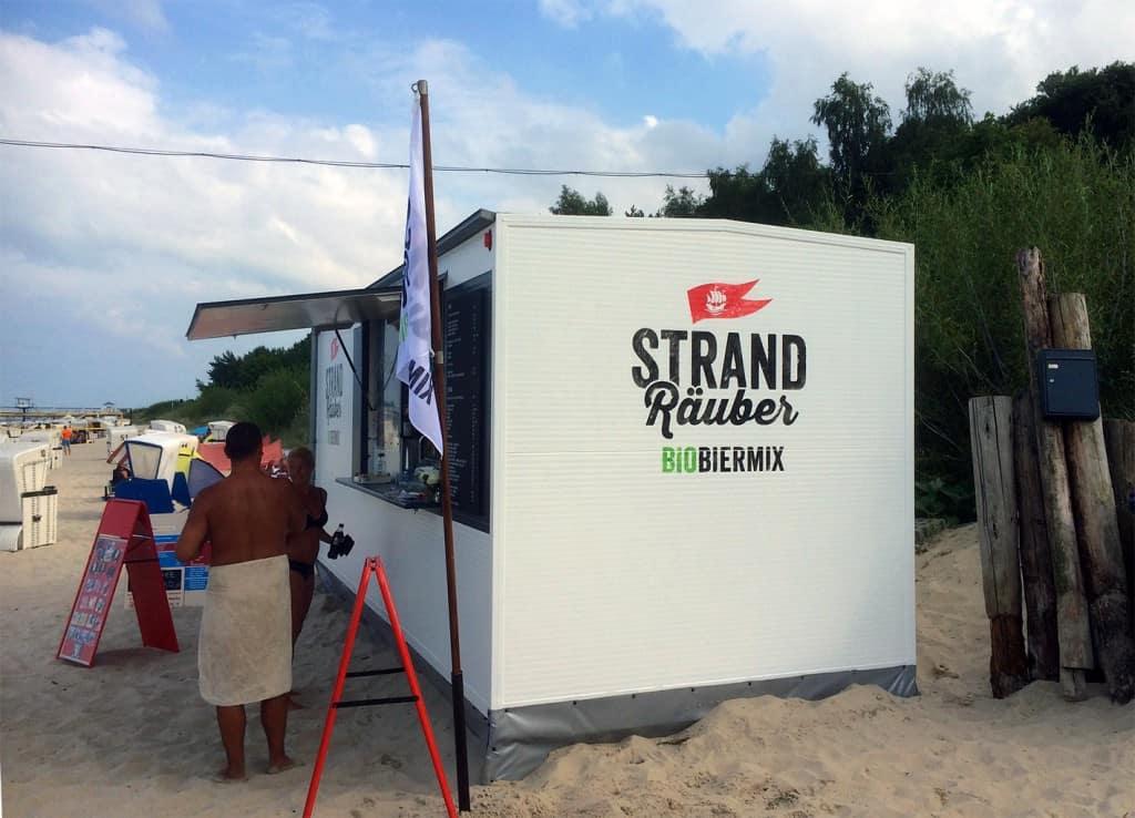 Strandräuber Strandkiosk